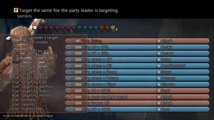 Final Fantasy XII - Gambit