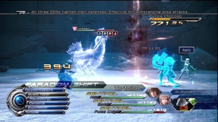 Final Fantasy XIII-2 - battle