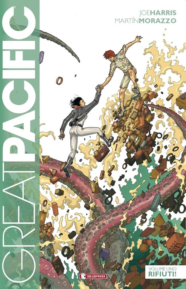 fumetti a tema ecologista Great Pacific