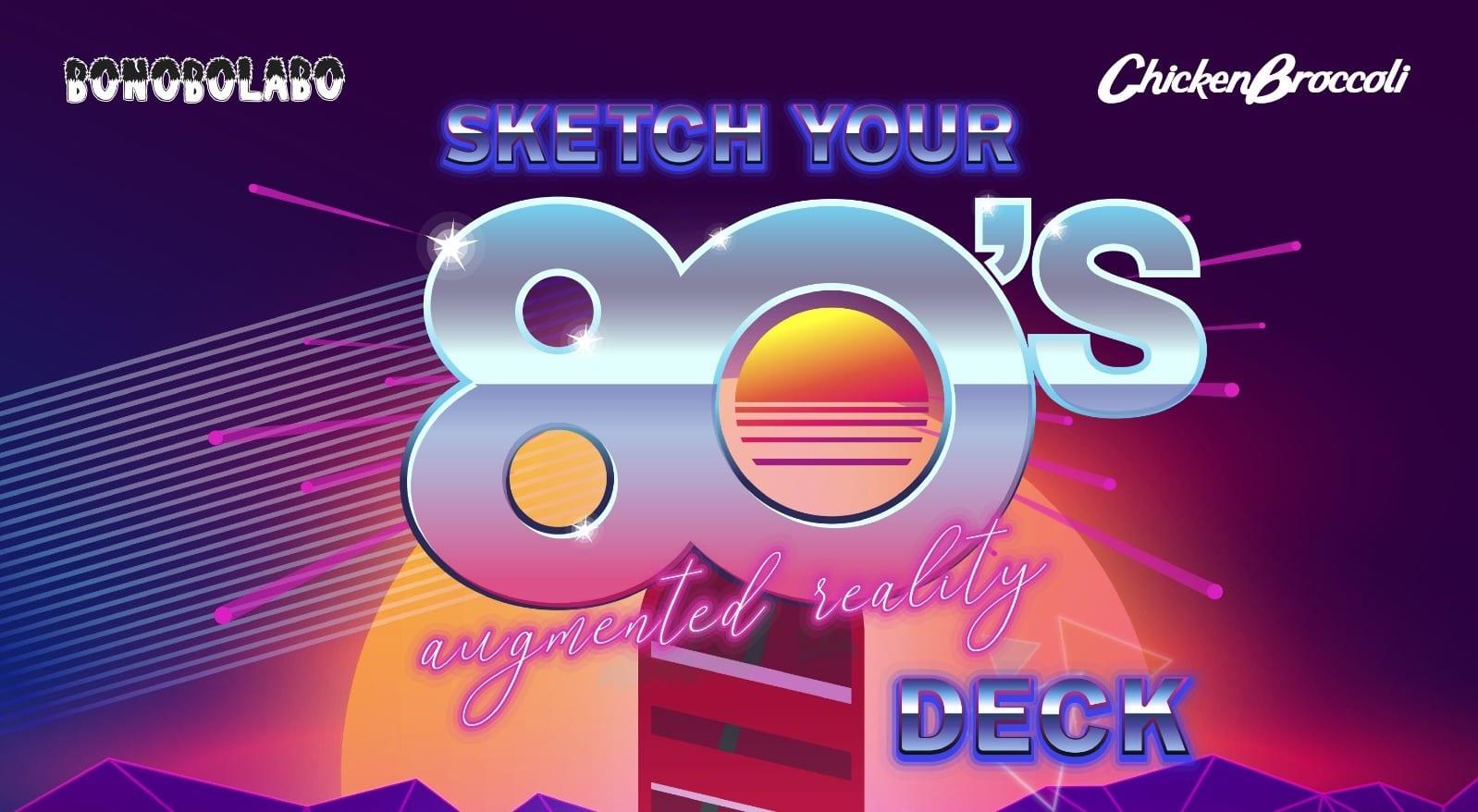 Sketch Your Deck: il concorso per la migliore tavola da skate ispirata alla pop culture degli anni '80