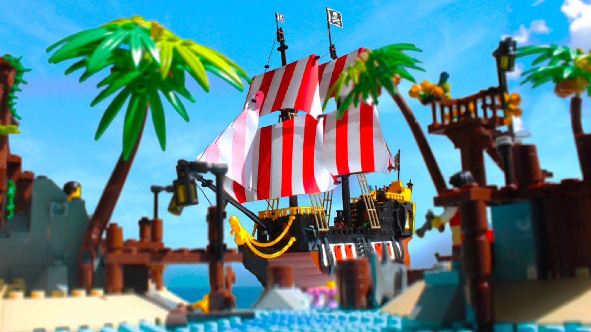LEGO Pirates of Barracuda Bay 21322: La Video Recensione