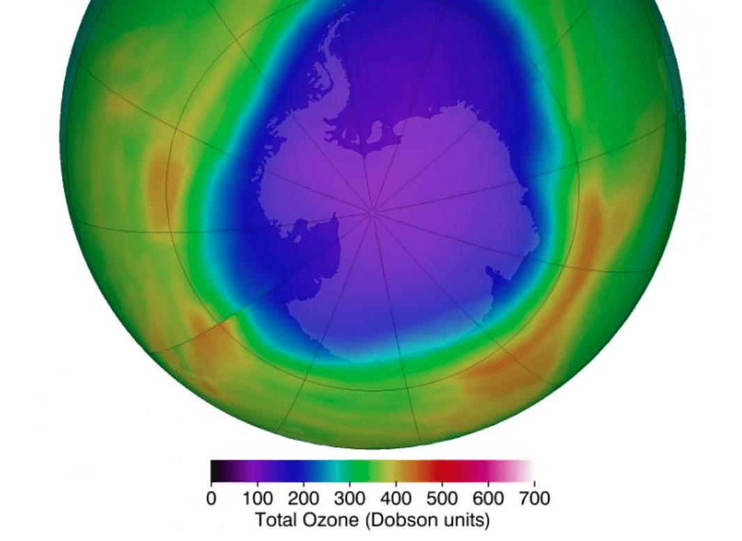 Ozono: livello record dell'esaurimento stratosferico a marzo