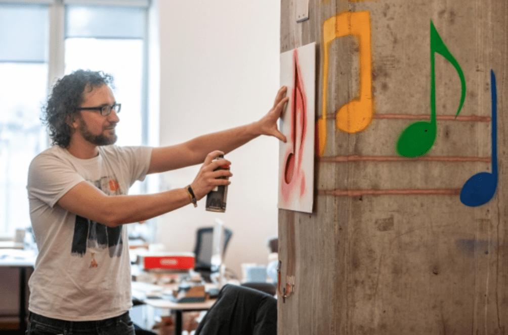 SprayableTech: la vernice che trasforma il muro in un display
