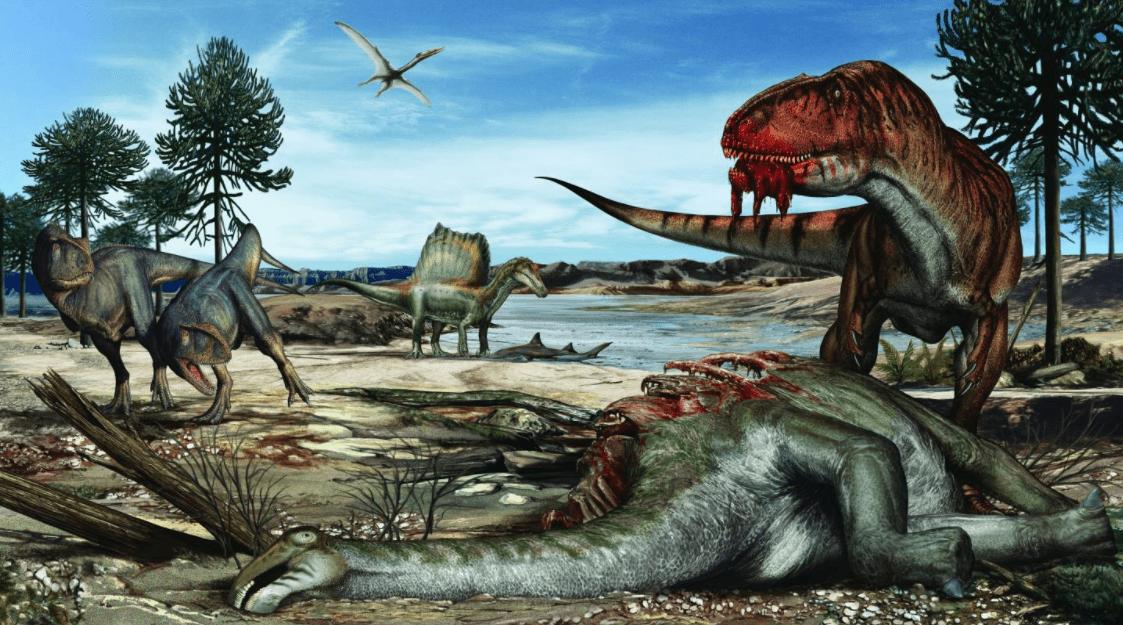 Jurassic Park in Marocco: una storia completa di paleoecologia dai letti del Kem Kem