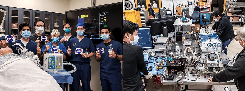COVID-19: NASA costruisce un prototipo di ventilatore in 37 giorni