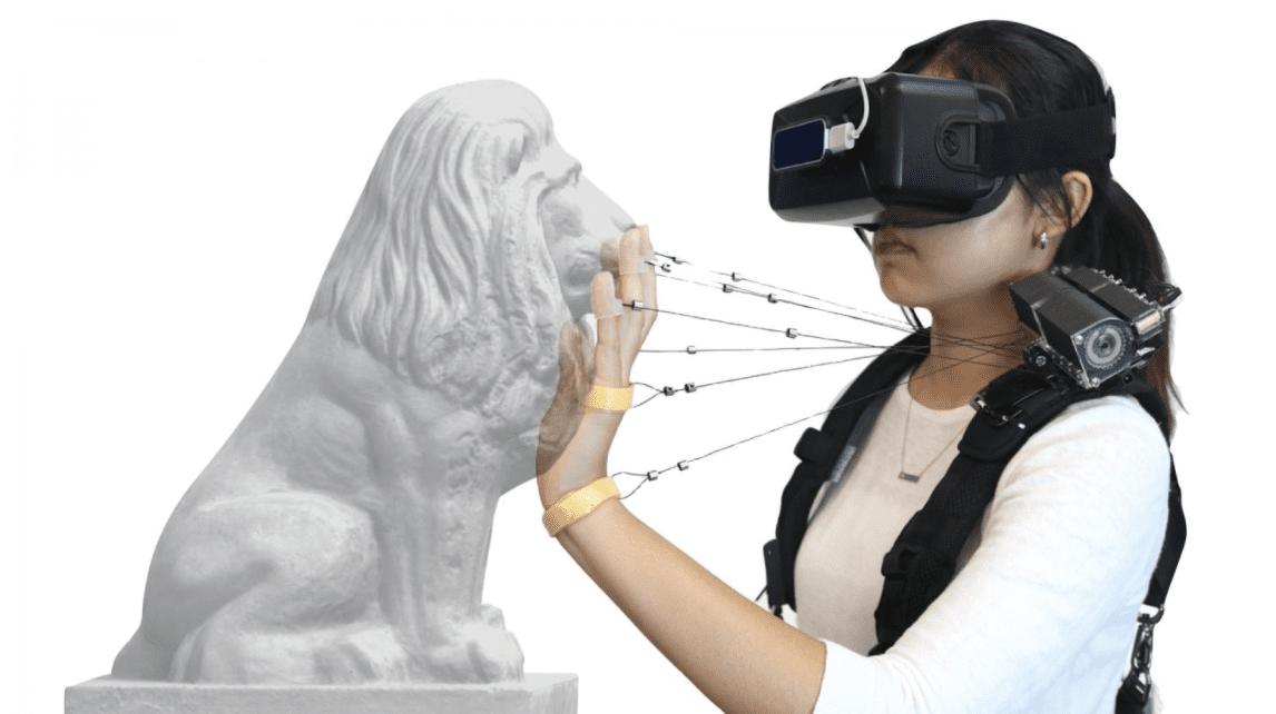 Realtà virtuale: un nuovo dispositivo per simulare le sensazioni tattili