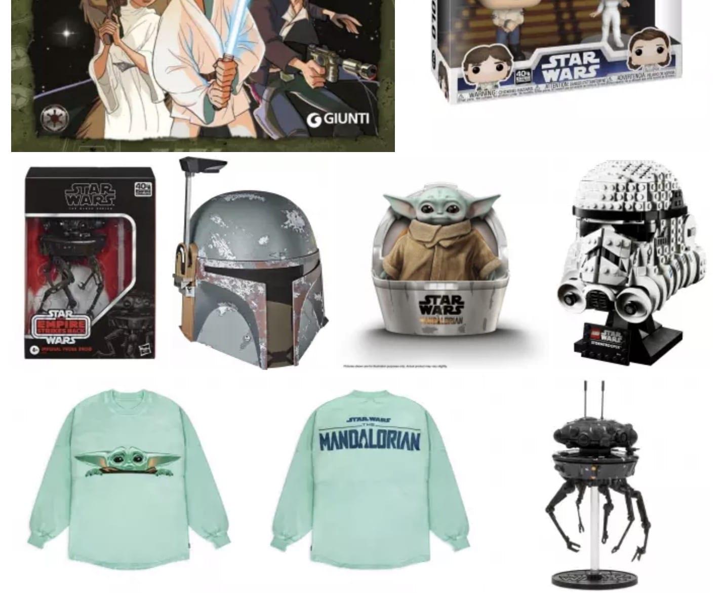 Star Wars Day: Ecco tutti i gadget e giocattoli in uscita