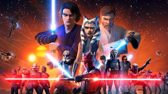 Star Wars Disney+ The Clone Wars