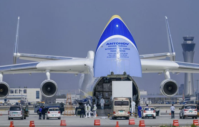 AN-225: l'aereo più grande del mondo, a servizio della lotta contro il covid-19