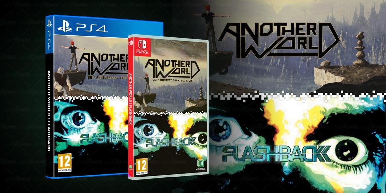 Another World e Flashback, la compilation è ora disponibile per Nintendo Switch e PS4