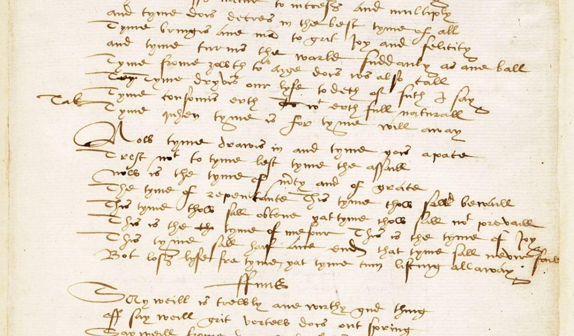 """Bannatyne Manuscript: la prima """"F-Bomb"""" di cui abbiamo notizia"""