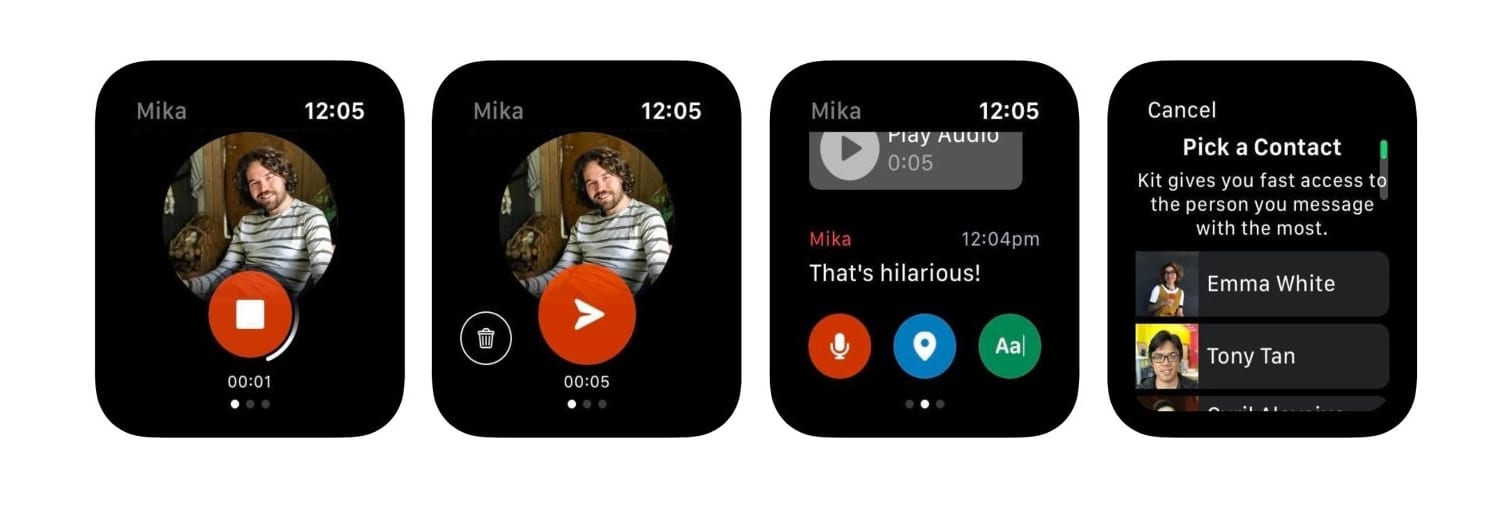 Facebook Kit: un'app di messaggistica in esclusiva per Apple Watch
