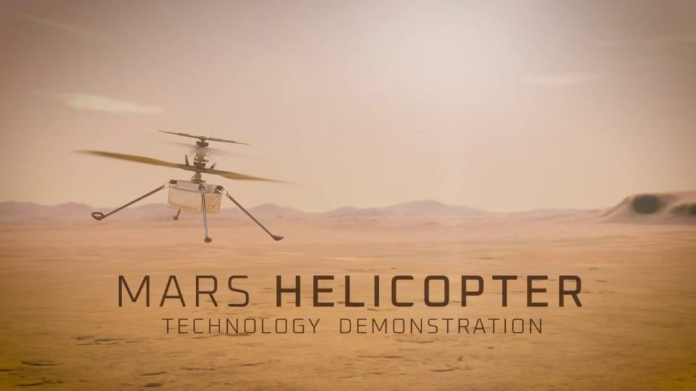 Mars copter Ingenuity