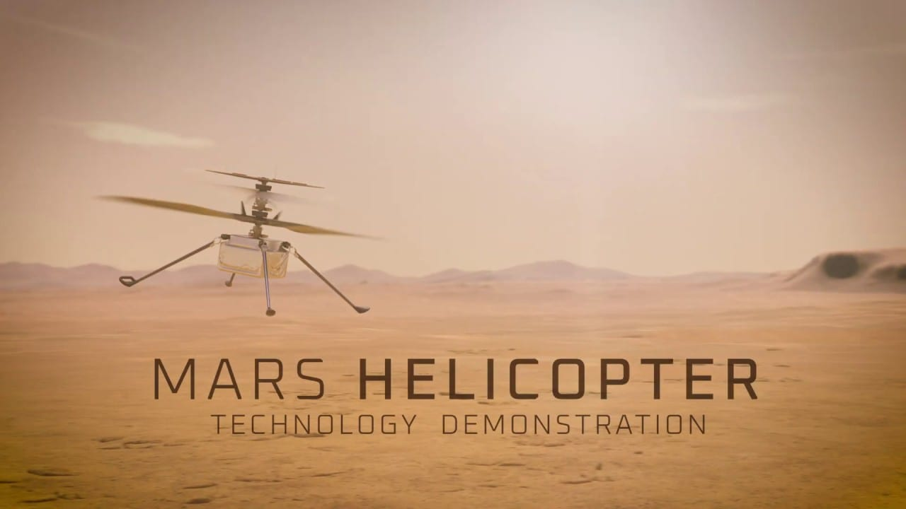 Mars copter Ingenuity