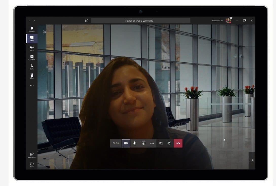 Microsoft Teams: foto personali come sfondo per le videochiamate