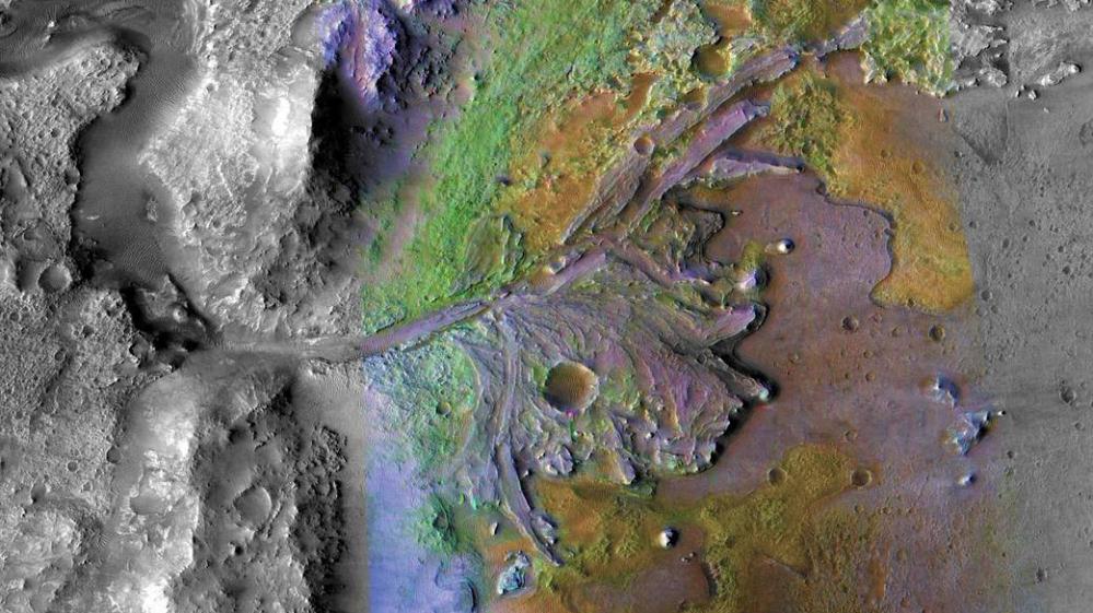 cratere jezero marte