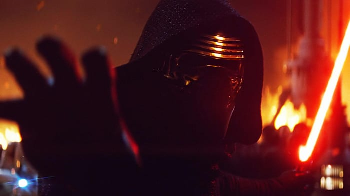Star Wars Disney+ Il risveglio della forza Kylo Ren