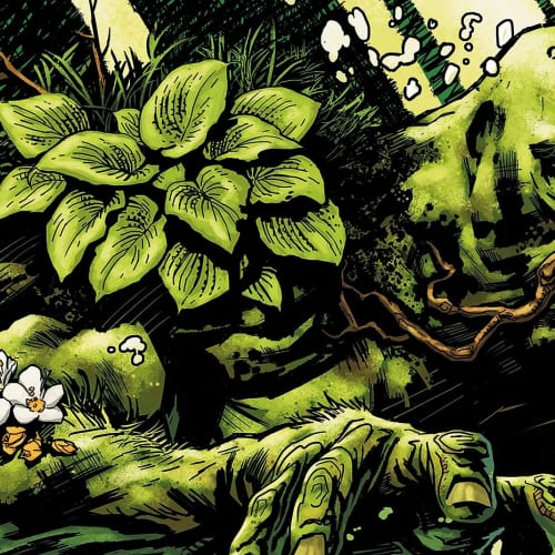 Fumetti a tema ambientalista Swamp Thing