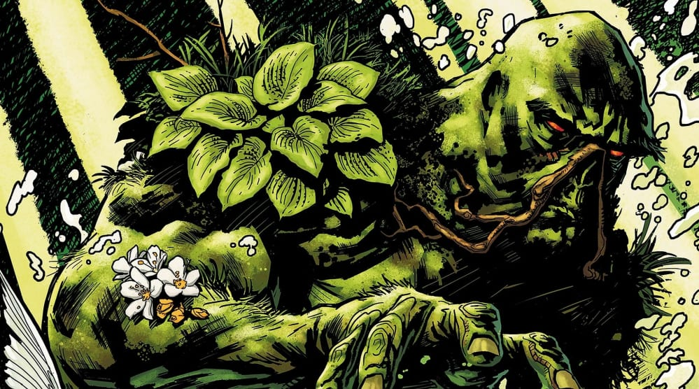 Fumetti a tema ecologista Swamp Thing