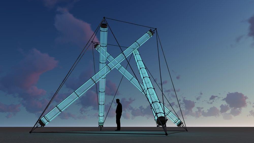 Tensegrità: strutture meccaniche che si autosostengono