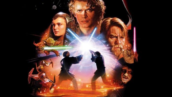 Star Wars La vendetta dei sith Disney+