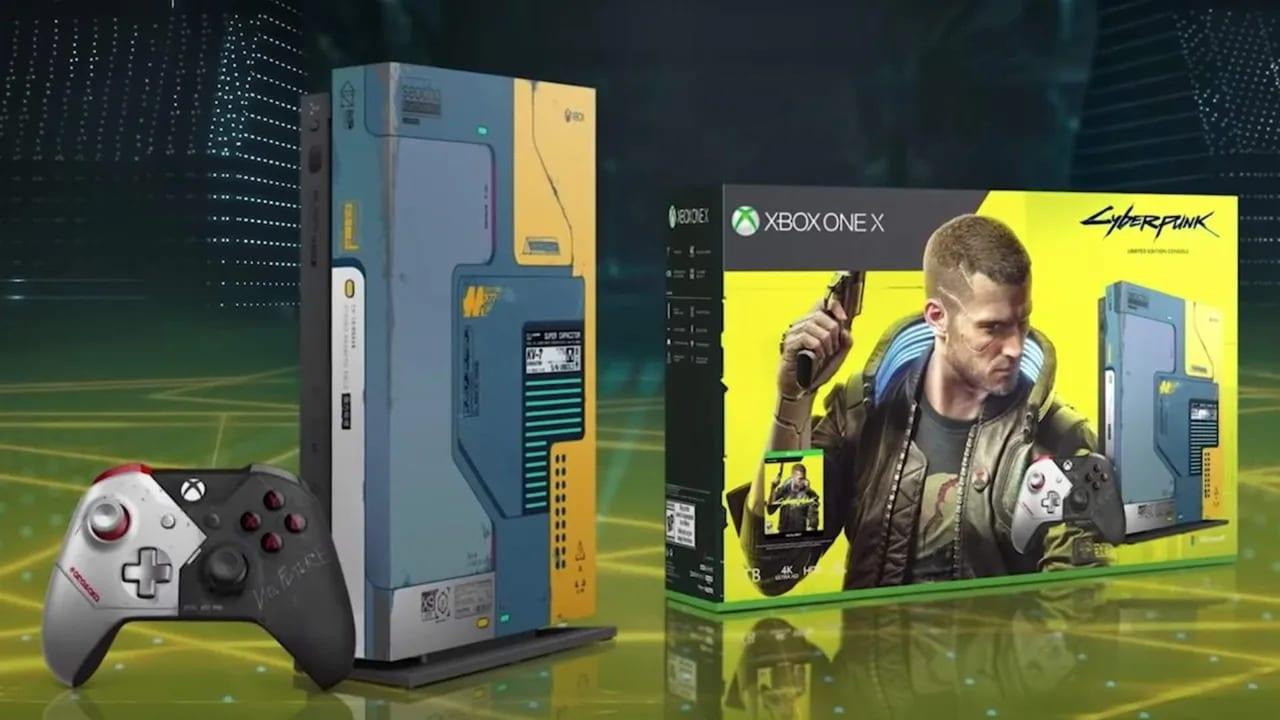 Xbox One X, la console limited edition ispirata a Cyberpunk 2077 sarà disponibile a giugno