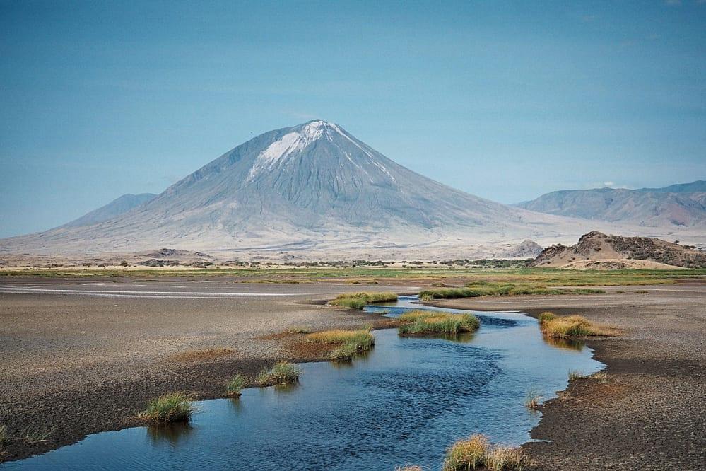 vulcano oldoinyo lengai - africa