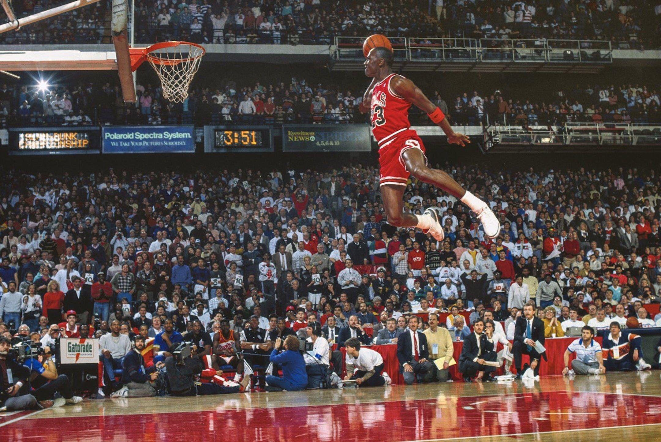 Michael Jordan, l'uomo che sapeva volare