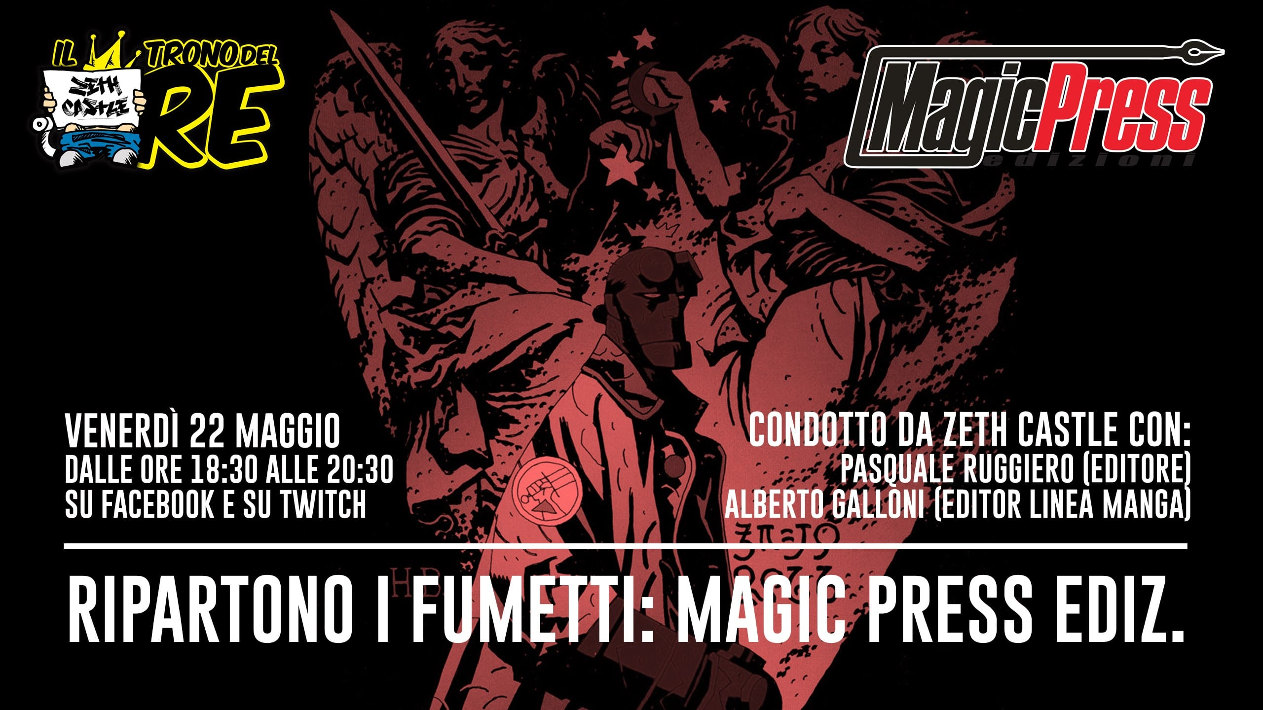 Il Trono del Re: Magic Press