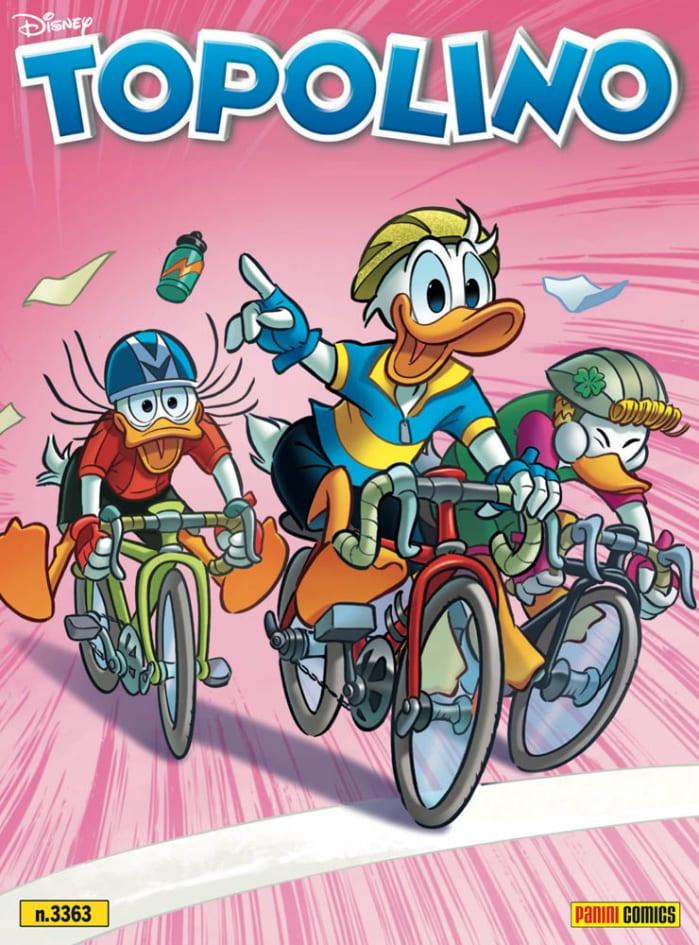 La copertina di Topolino 3363