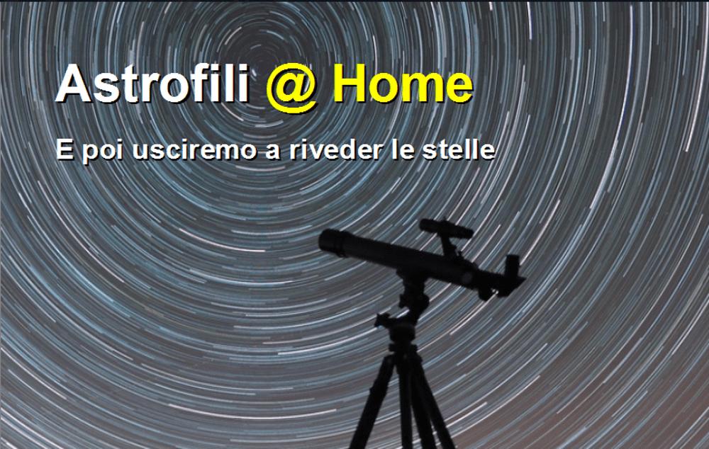 Astrofili @ Home: sabato 2 maggio come e dove seguire l'evento