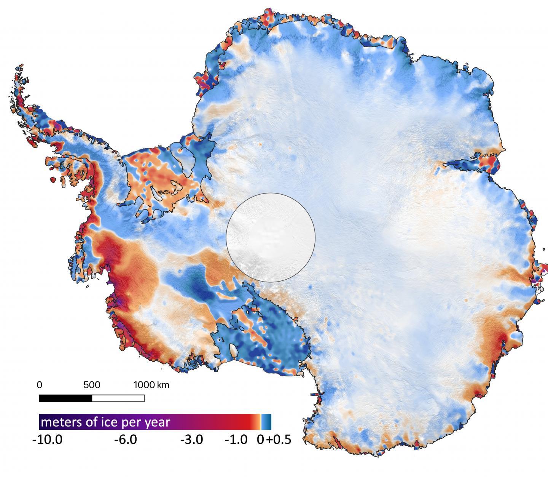 ICESat-2: primi risultati della missione NASA sulla fusione delle calotte glaciali