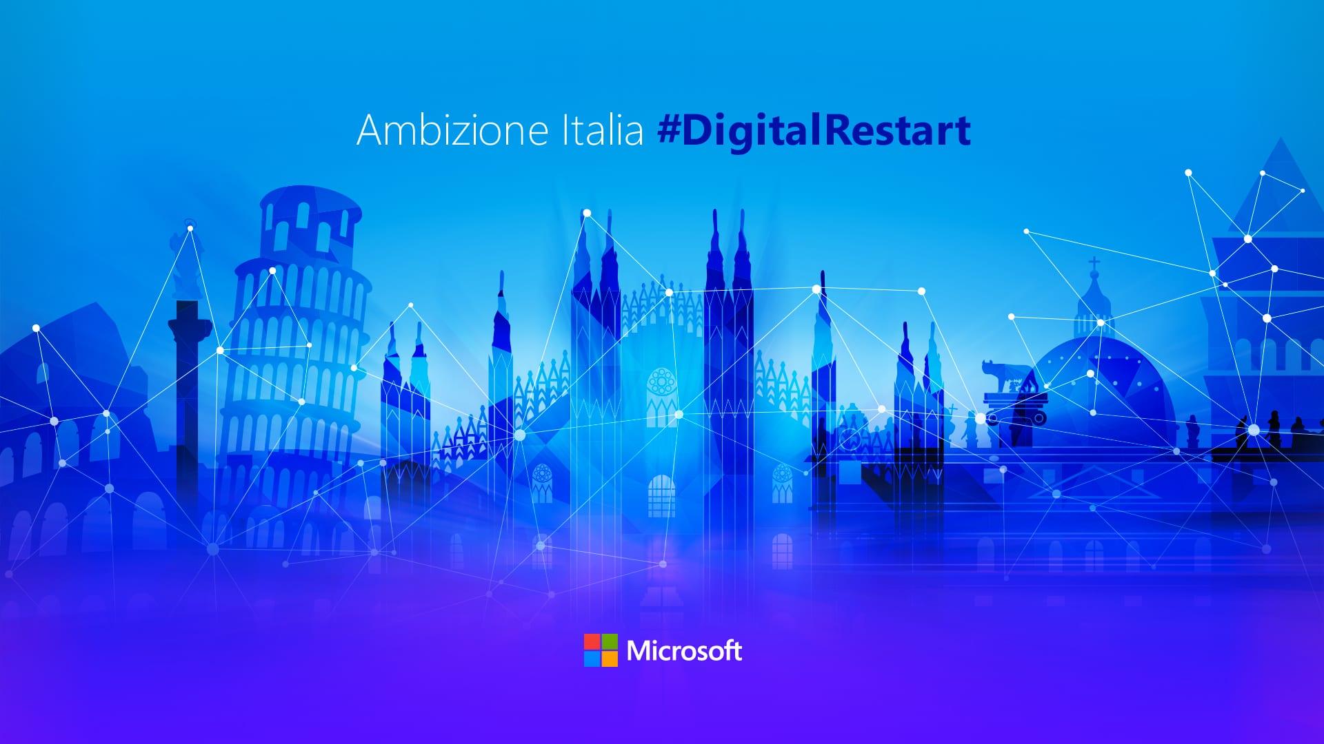 Microsoft investe 1.5 miliardi di dollari sull'Italia