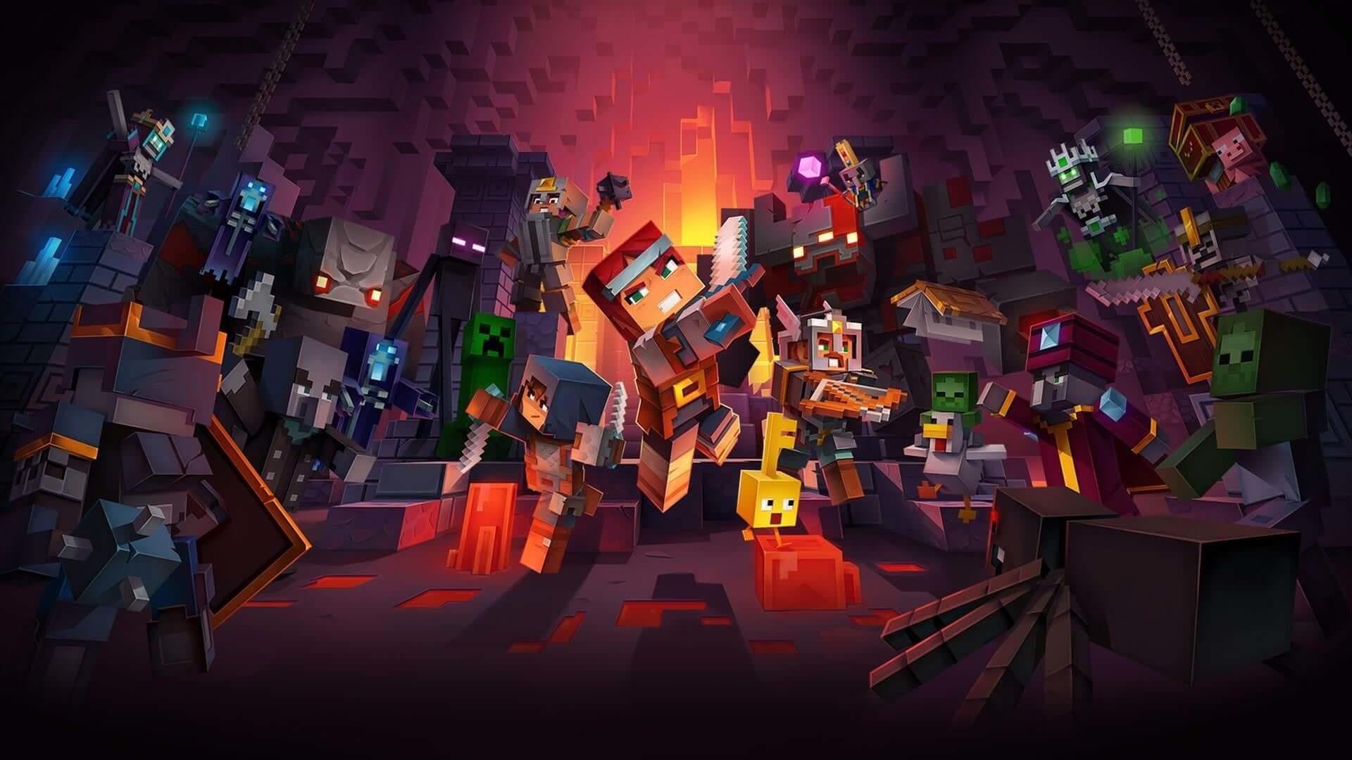 Recensione Minecraft Dungeons: zombie e creeper invadono il mondo di mattoni
