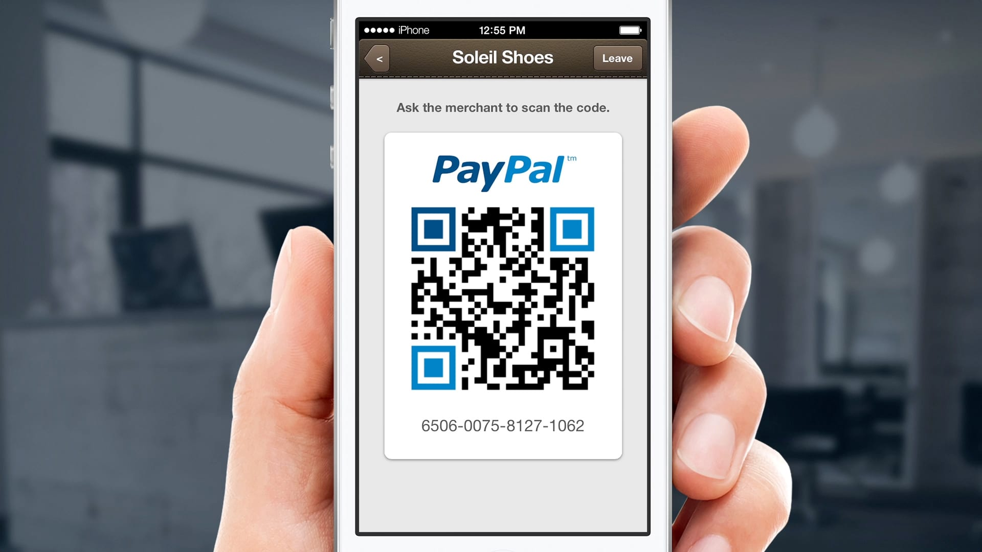 PayPal QR Code