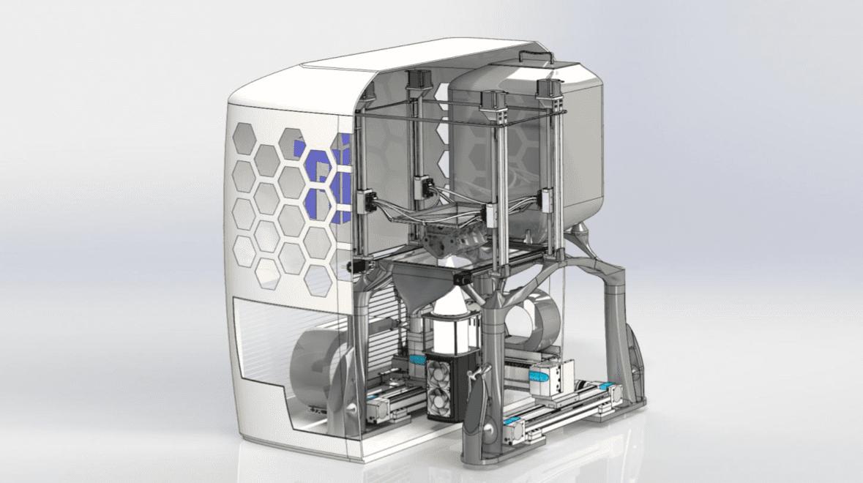 Stampa 3D di metallo: nuova tecnologia LED