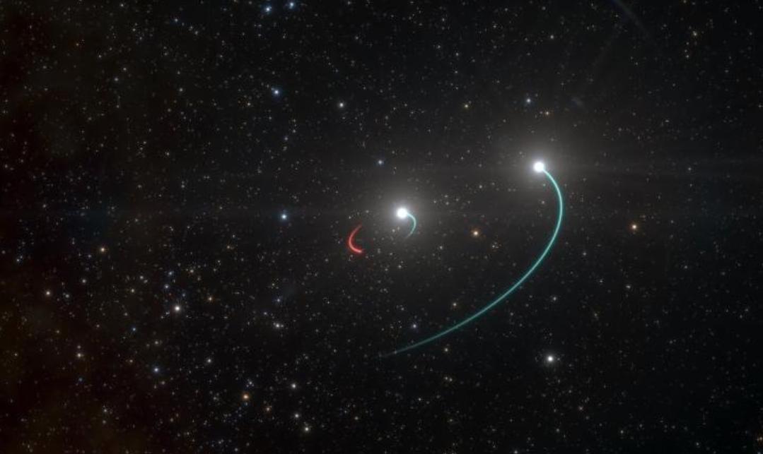Creata una mappa stellare che identifica 25.000 buchi neri