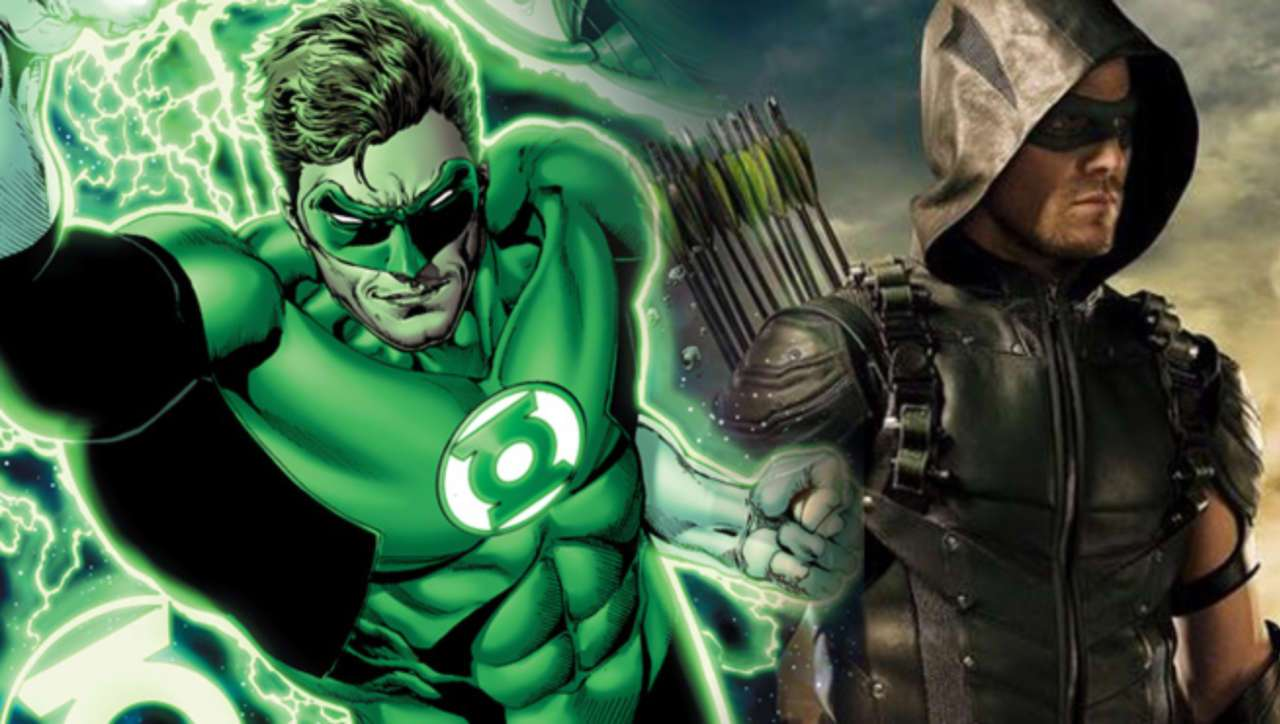arrow Lanterna Verde
