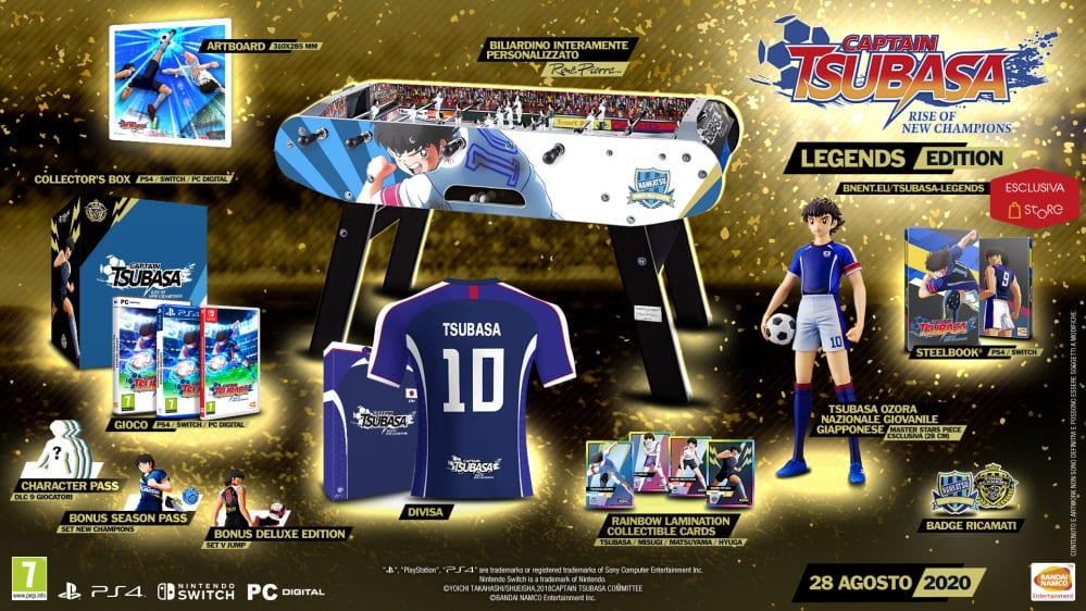 captain tsubasa legends edition