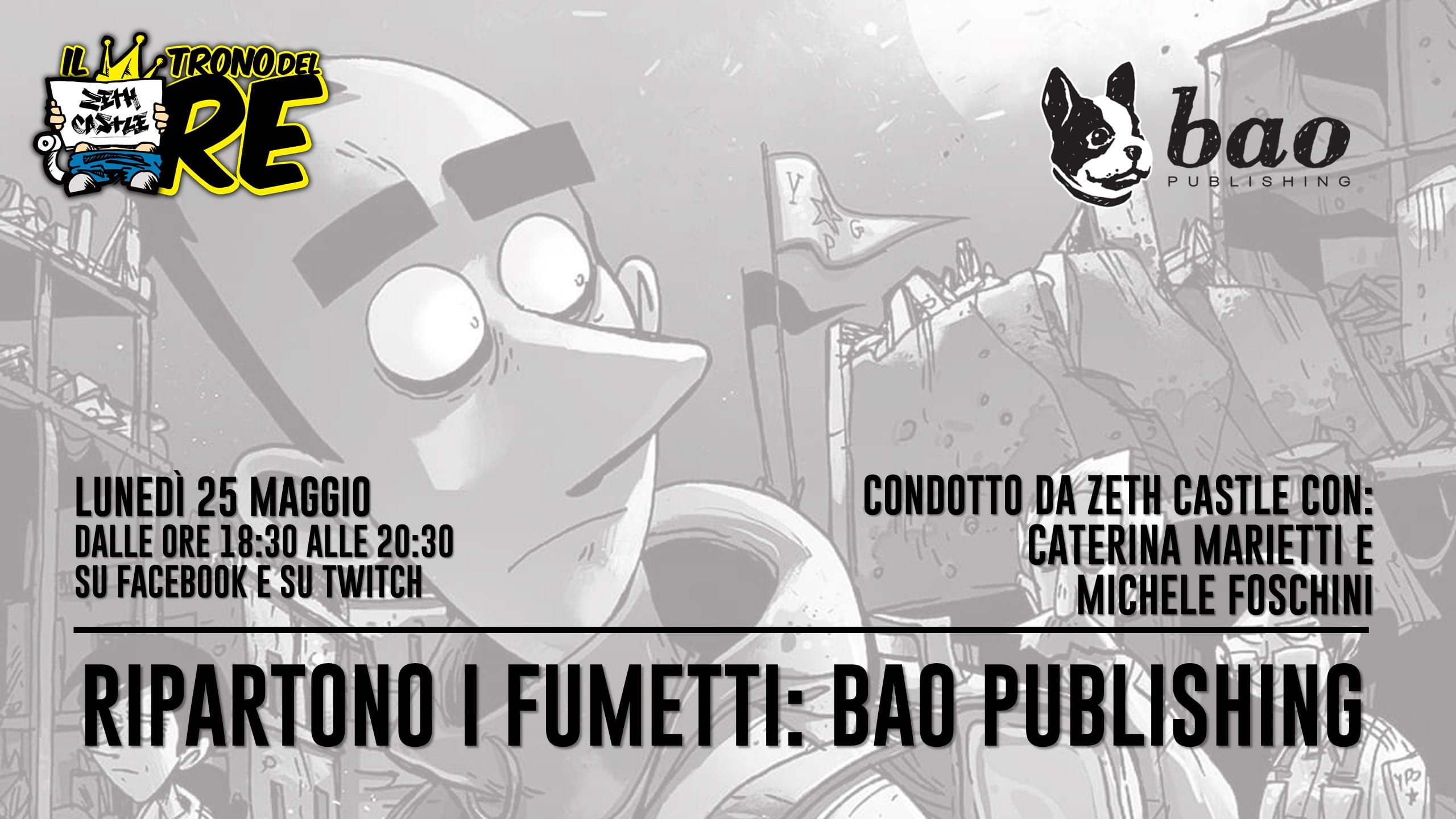 Il Trono del Re: ospite Bao Publishing