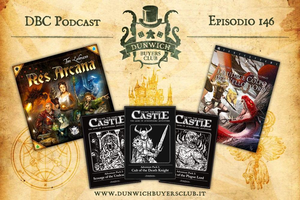 DBC 146 – Res Arcana, Escape the Dark Castle Adventure Packs, L'audace colpo del vello d'oro