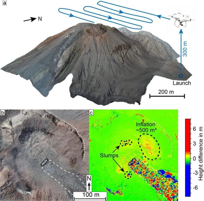 mappatura vulcano