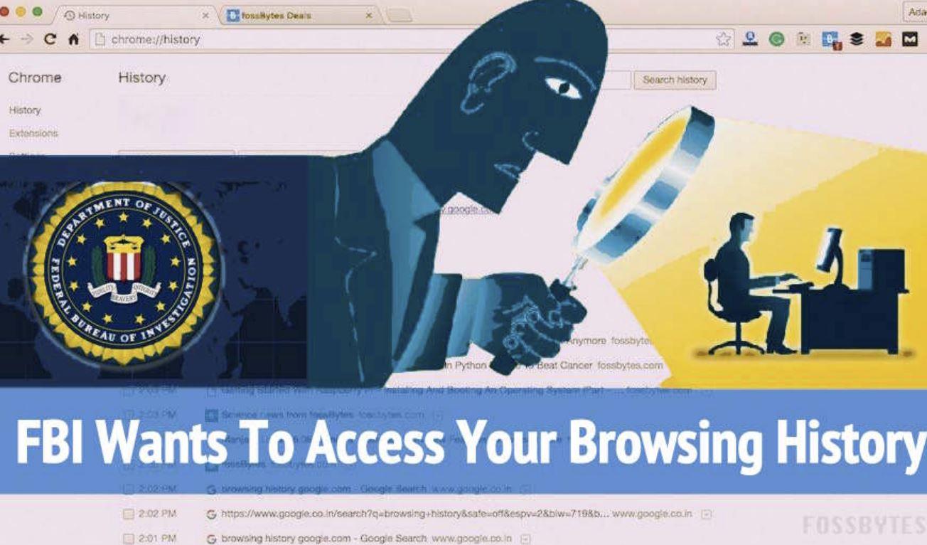 Cronologia internet, negli USA all'FBI non serve alcun mandato