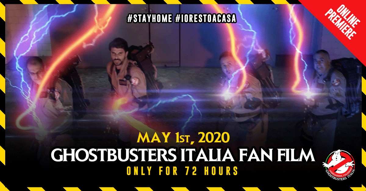 Ghostbusters Italia Fan Film: ora disponibile solo per 72 ore