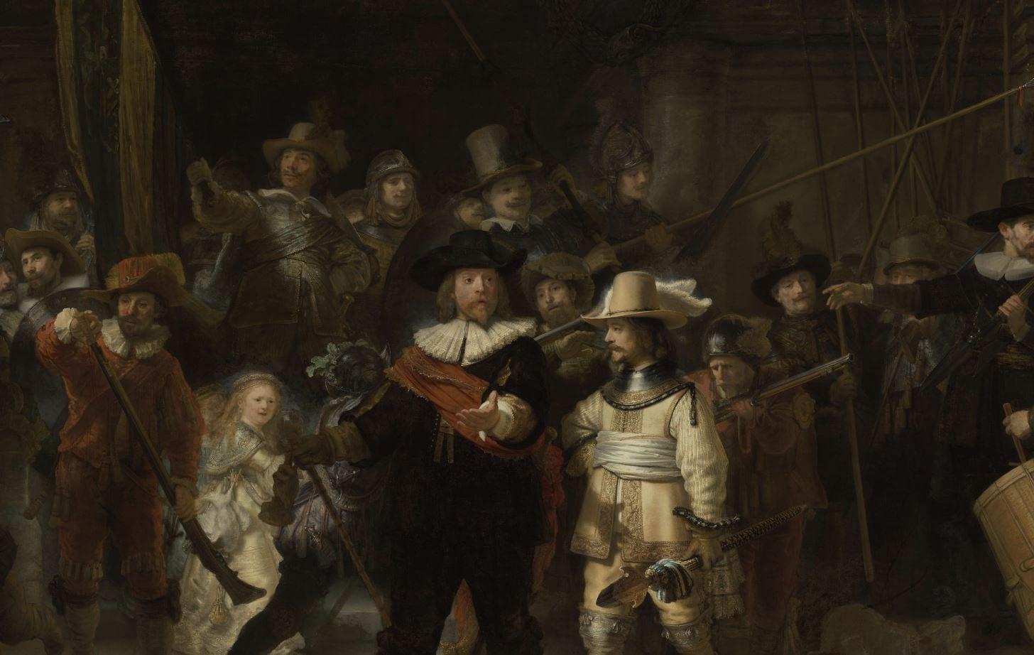 La Ronda di Notte di Rembrandt è stato riprodotto in 44.8 gigapixel