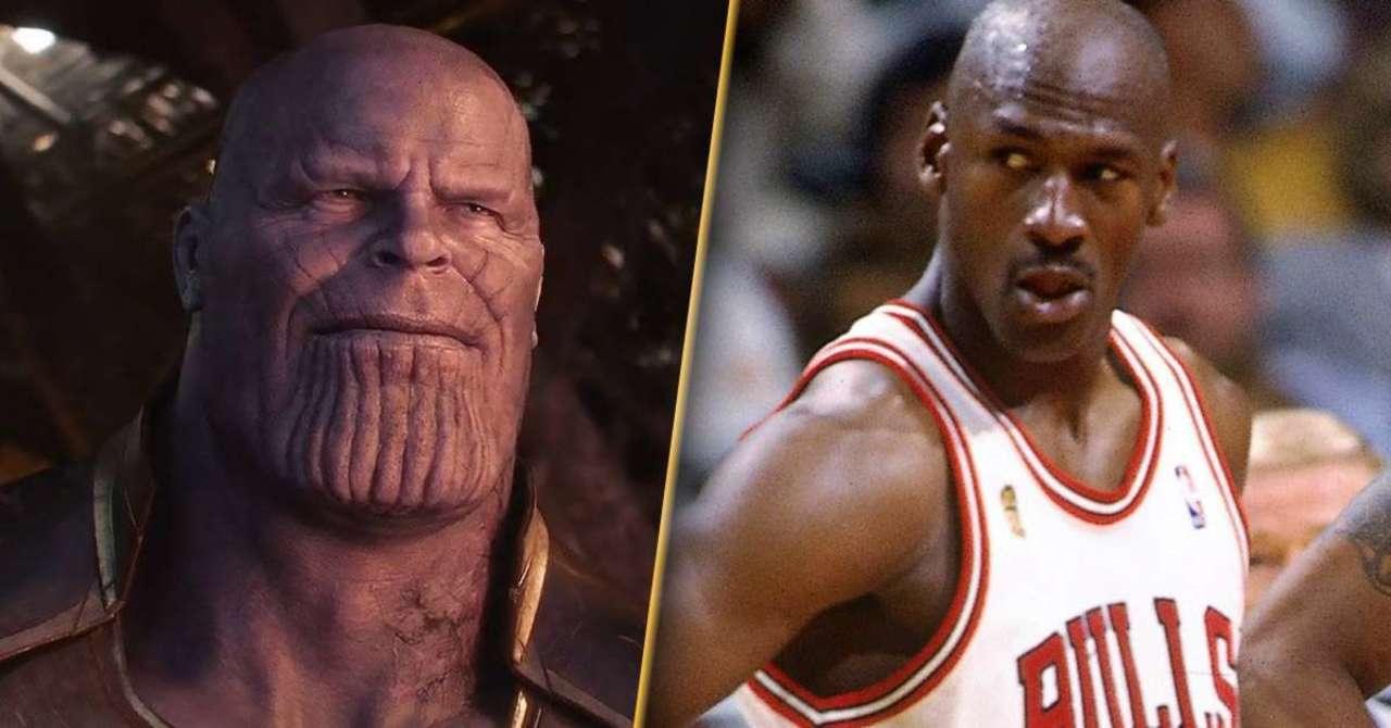 The Last Dance: Michael Jordan nei panni di Thanos per celebrare la fine della serie