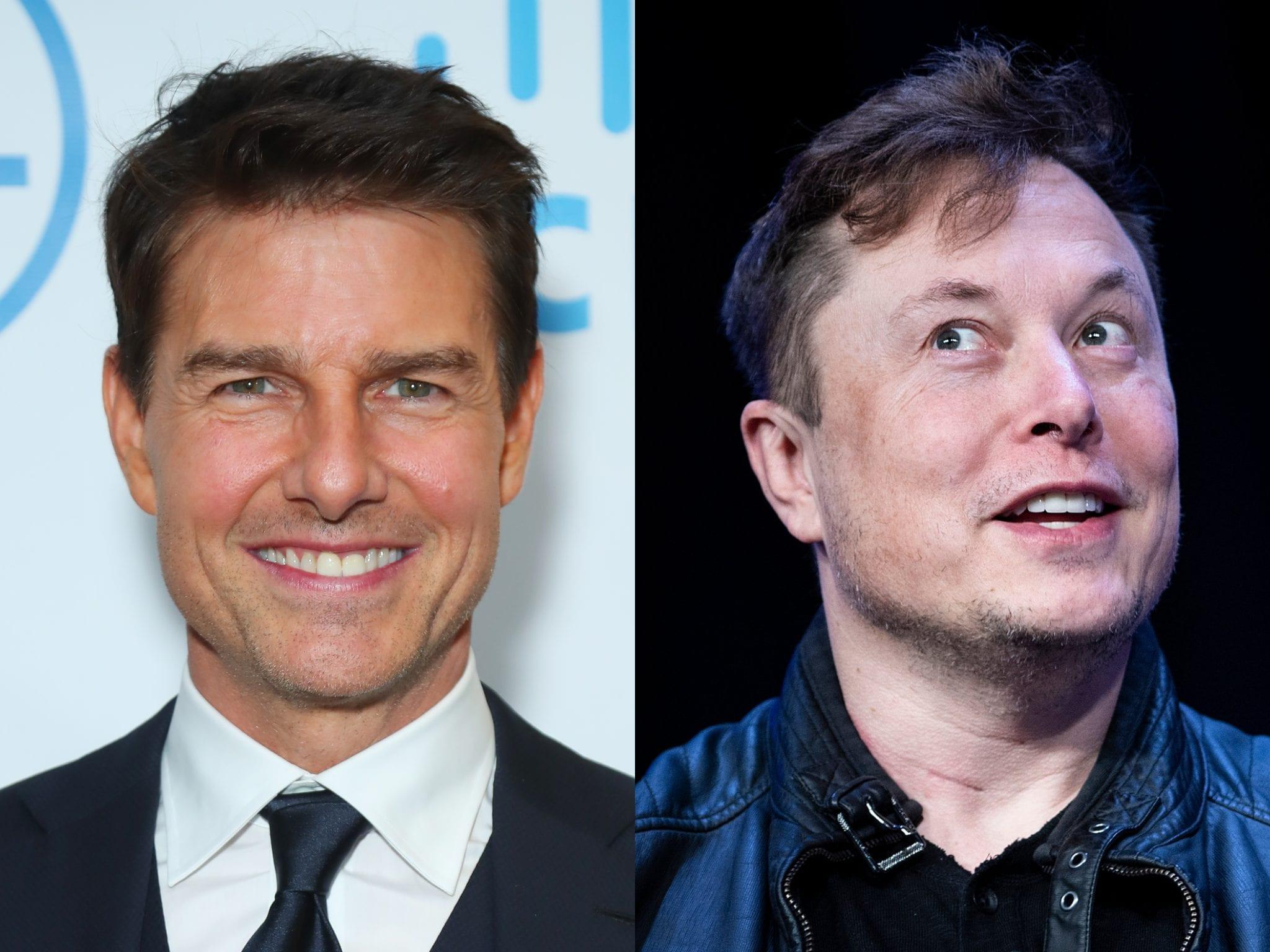 Tom Cruise e Elon Musk insieme per un film girato nello spazio!