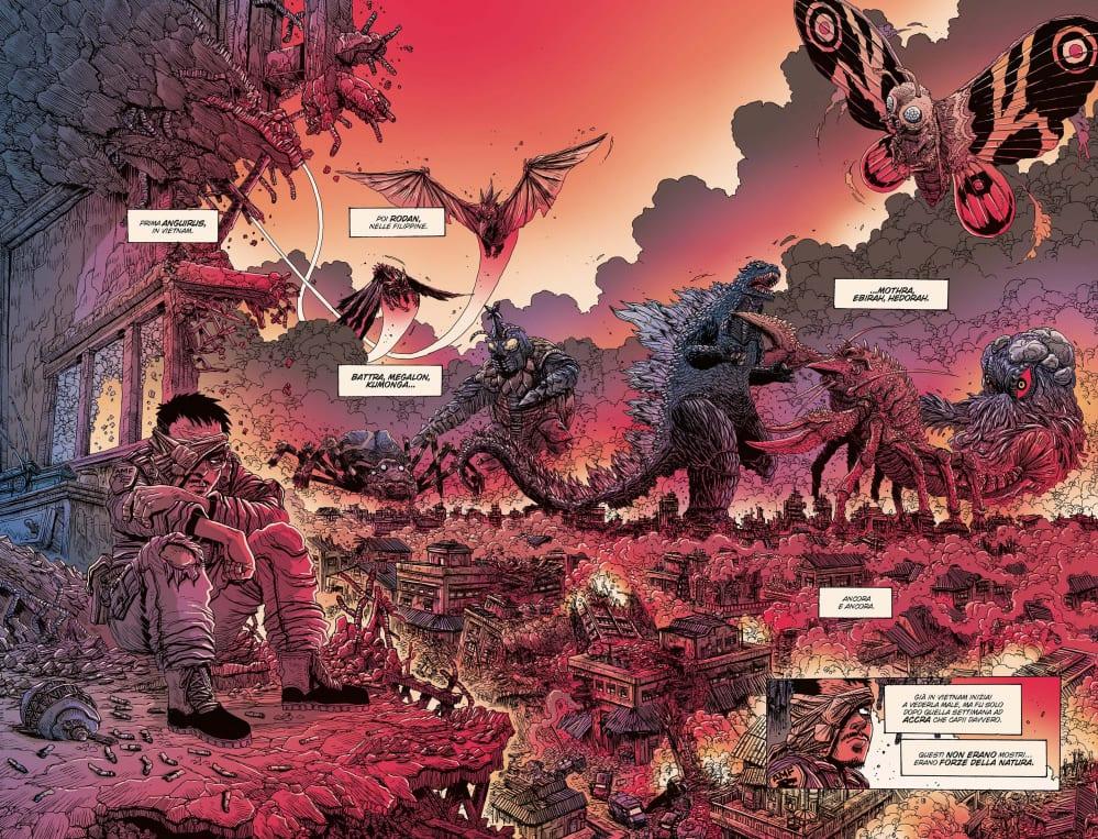 Godzilla la guerra dei 50 anni - Battle Royal