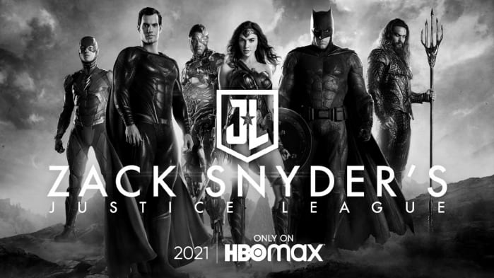 Justice League Snyder Cut locandina