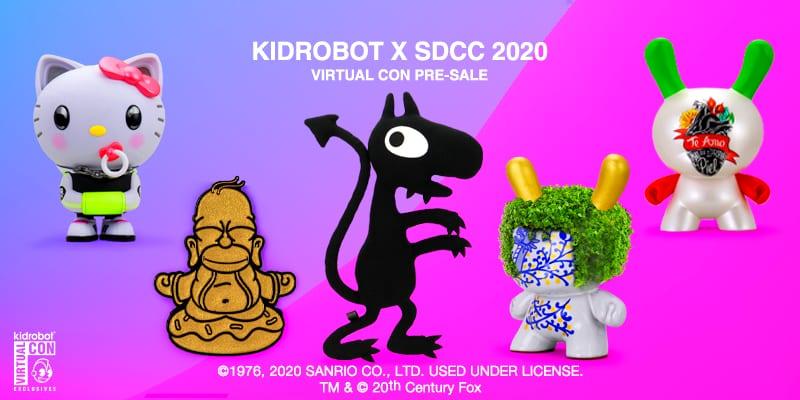 Kidrobot x SDCC 2020: Parte la prevendita delle esclusive